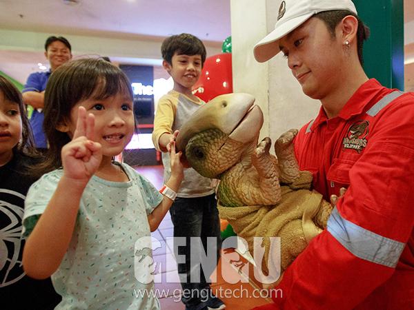恐龍布袋玩偶