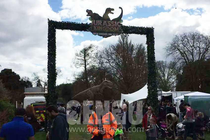 《侏罗纪王国》英国巡演