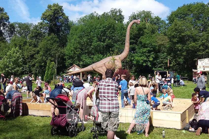 《侏罗纪王国》去了曼彻斯特