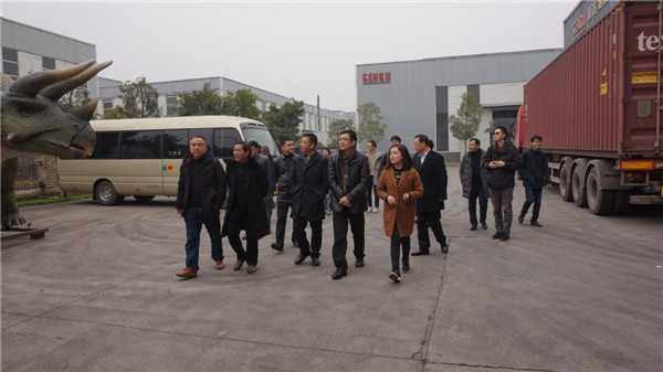热烈欢迎北京第二外国语学院国家文化发展国际战略研究院研究团队莅临亘古考察调研