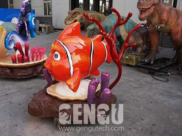 玻钢卡通鱼(FP-291)