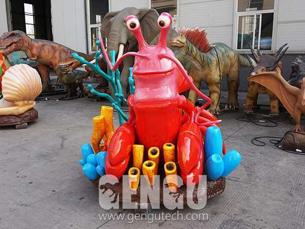 玻钢卡通龙虾(FP-295)